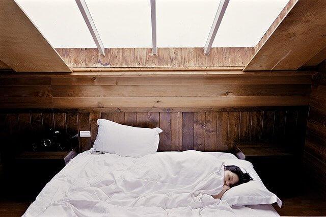 Sleeping on left Side
